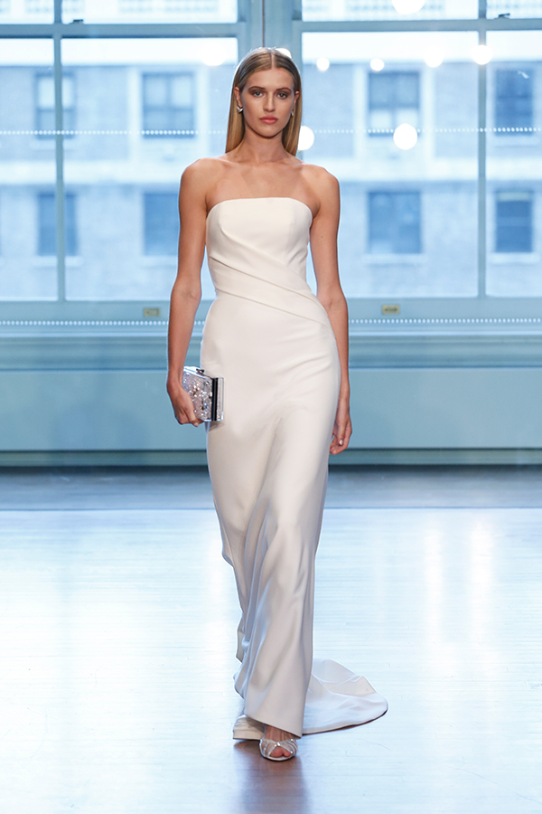 10 Wedding Gowns For a Modern Minimalist BridalGuide