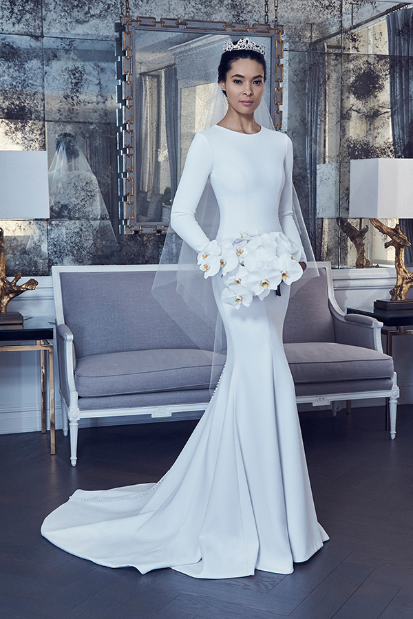 10 Wedding Gowns For A Modern Minimalist Bridalguide