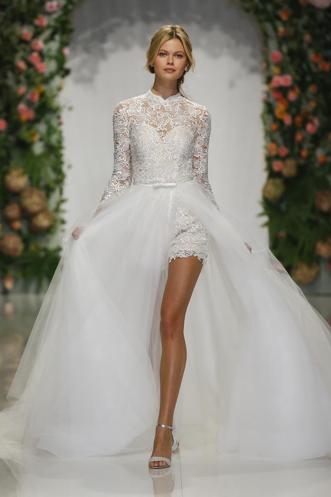 3dbcf1eabaa9 Romper Wedding Dress With Detachable Skirt - Image Wedding Dress ...