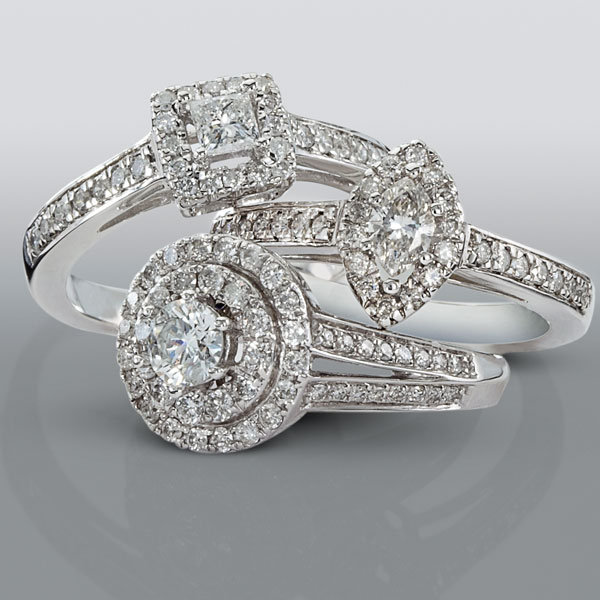 David tutera wedding rings different for David tutera wedding jewelry collection