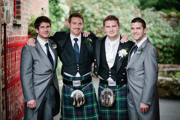 Many Irish Grooms Opt To Wear Kilts