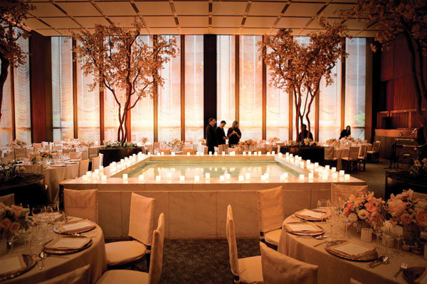 Indoor home wedding decorations southern weddings west for Indoor wedding reception ideas