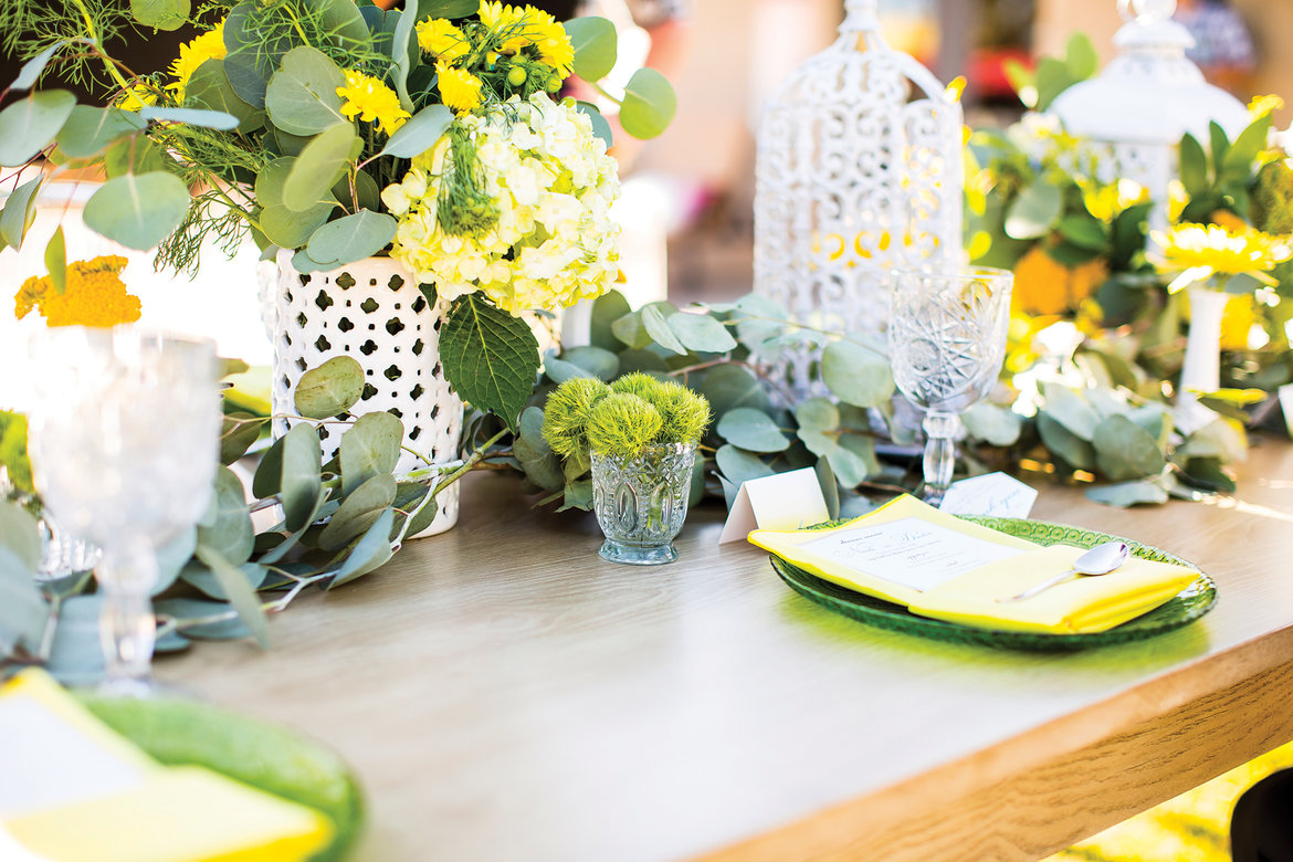 75 Ways to Throw a Luxury Wedding on a Budget - centerpiece