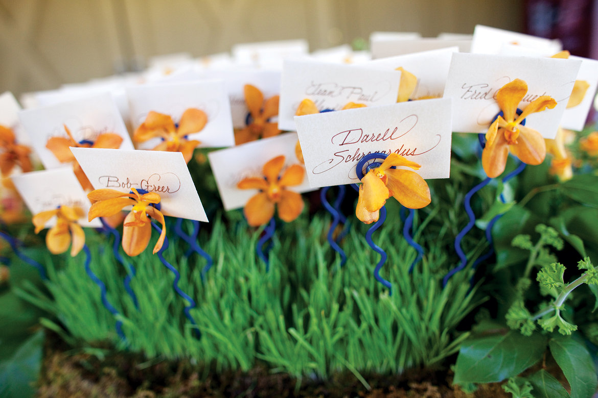 75 Ways to Throw a Luxury Wedding on a Budget - escort cards