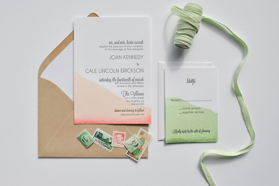 75 Ways to Throw a Luxury Wedding on a Budget - invitation