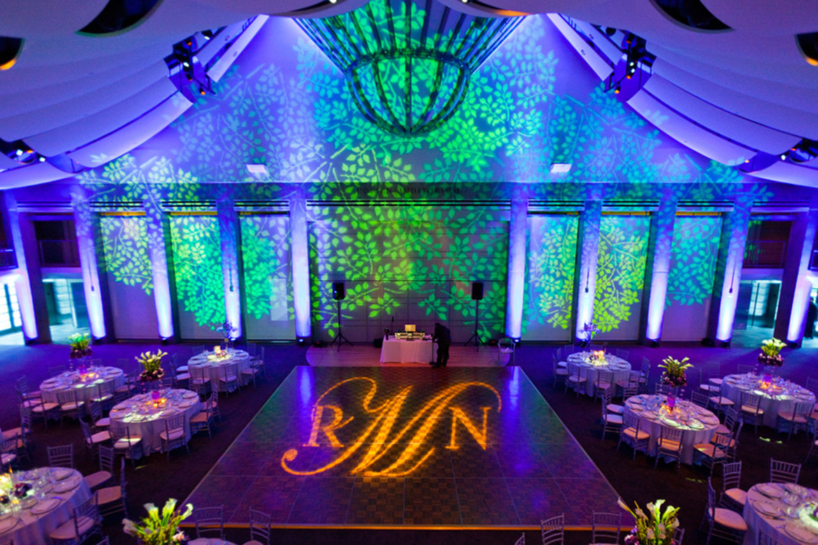 75 Ways to Throw a Luxury Wedding on a Budget - wedding lighting