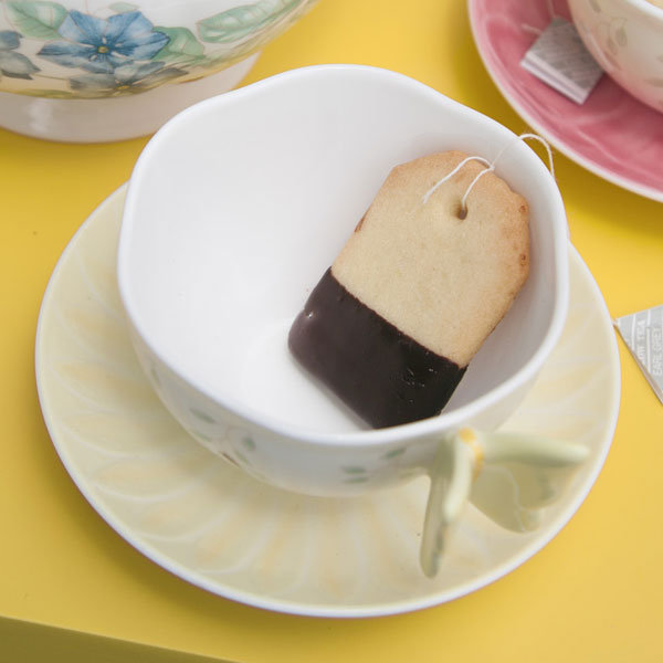 diy tea bag cookies