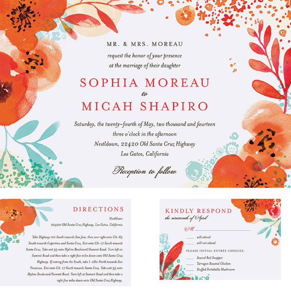 how to choose affordable wedding invitations | bridalguide,