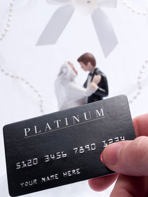 wedding credit card