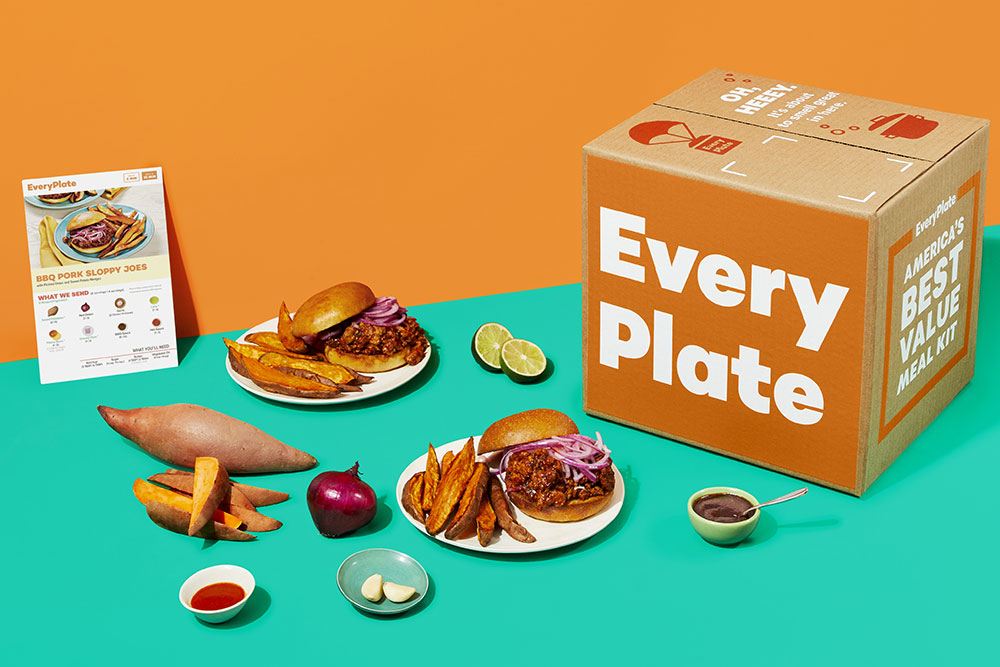 EveryPlate meal delivery service