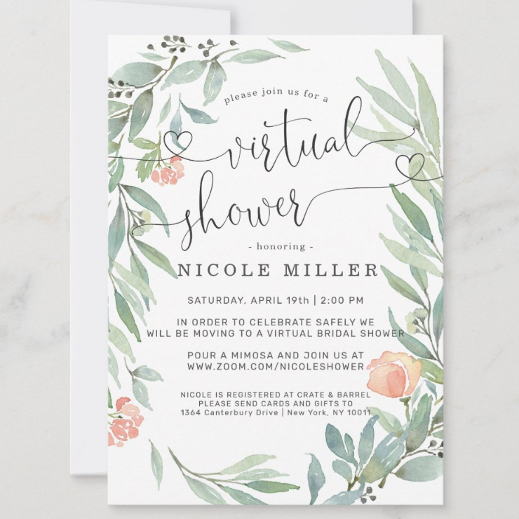 How to Plan a Virtual Bridal Shower