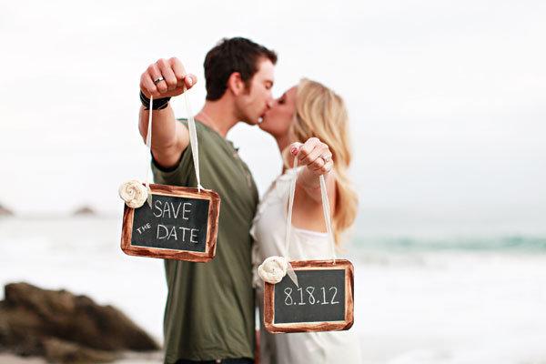 10 Creative Photo SavetheDate Ideas – Save the Date Wedding Photos