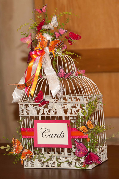 butterfly wedding card box