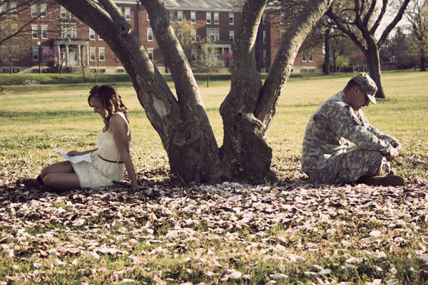 Love Wallpaper Of Army : Army Love Engagement Photos BridalGuide