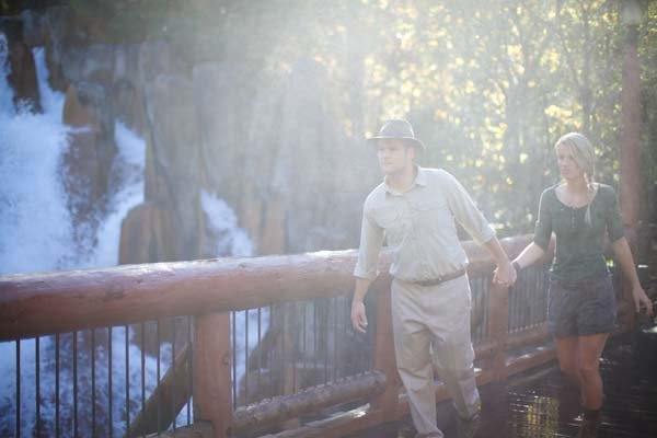 indiana jones themed engagement photos