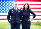 patriotic military engagement photos