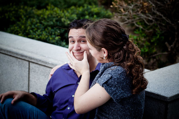 super mario bros engagement photos