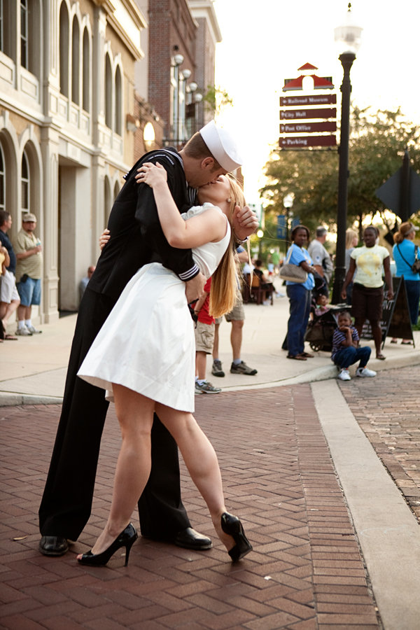 patriotic engagement photo