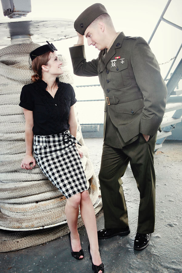 world war ii navy engagement photos