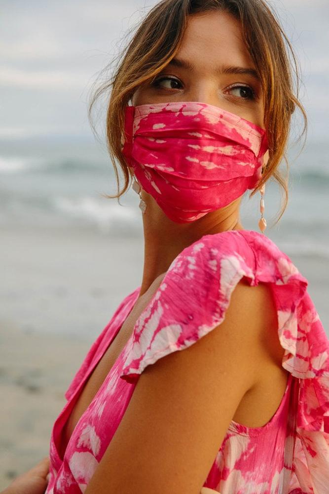 Wedding face mask for bridesmaids