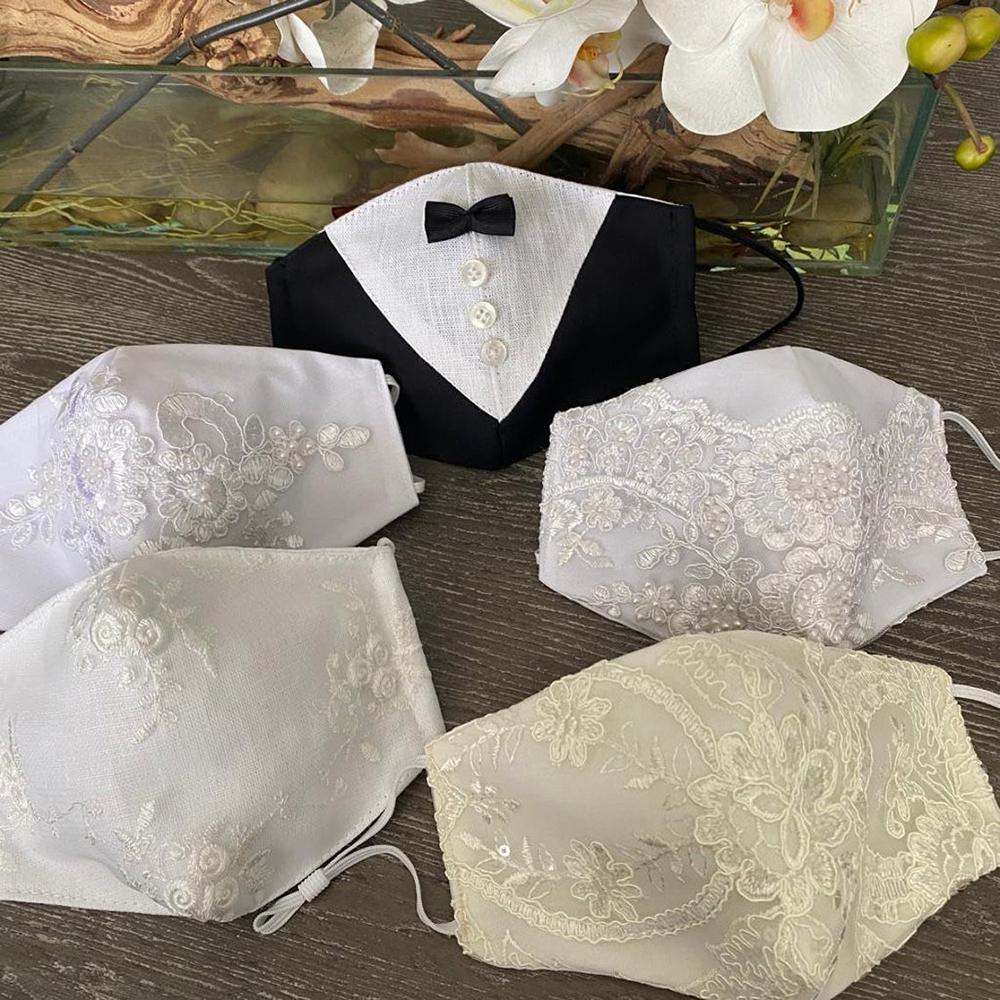 Wedding face masks