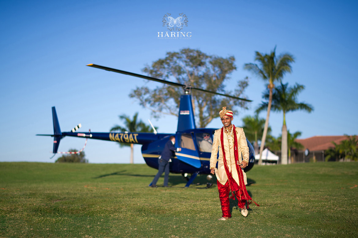 helicopter baraat