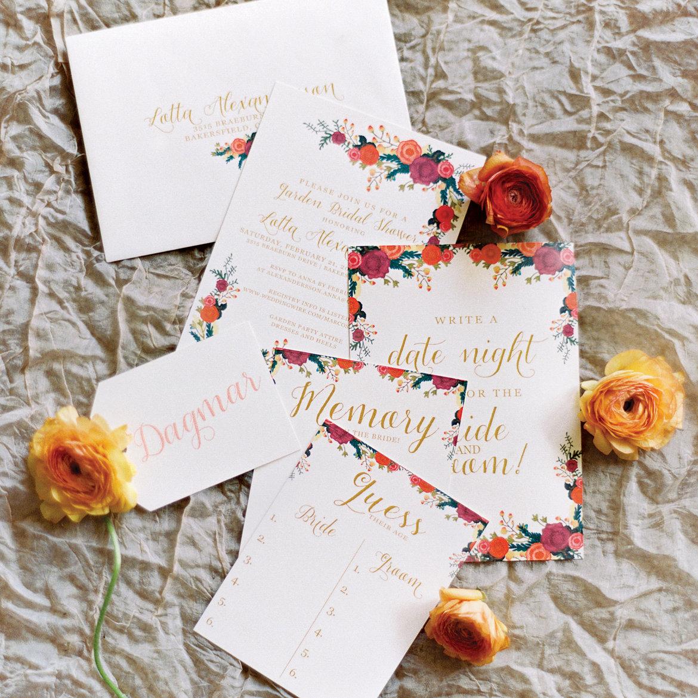 Romantic Garden Wedding Theme: A Romantic Garden-Themed Bridal Shower BridalGuide