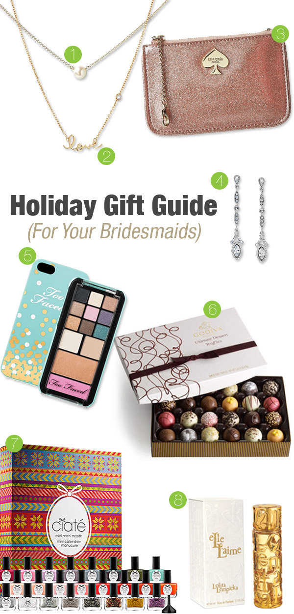 Wedding Gift Guide : 20 Thank-You Gifts Your Bridal Party Will Love BridalGuide