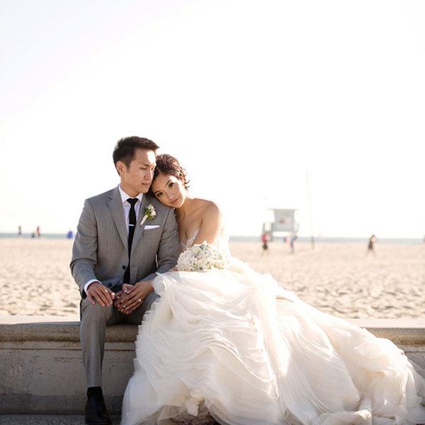 Photo of the newlyweds