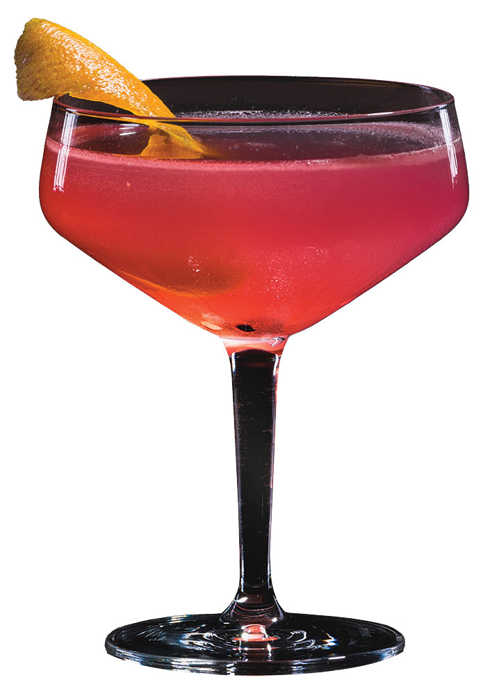 Classic Cosmo Wedding Cocktail