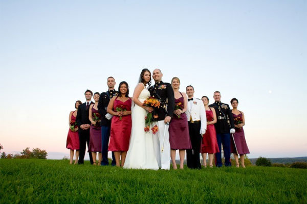 A Guide To Military Weddings BridalGuide