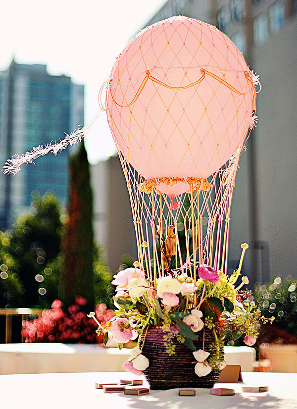 Brainstorm hot air balloons for Balloons arrangement decoration
