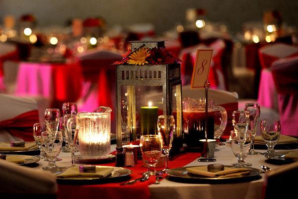 Non Floral Centerpieces Budget Wedding Centerpiece Ideas Wedding