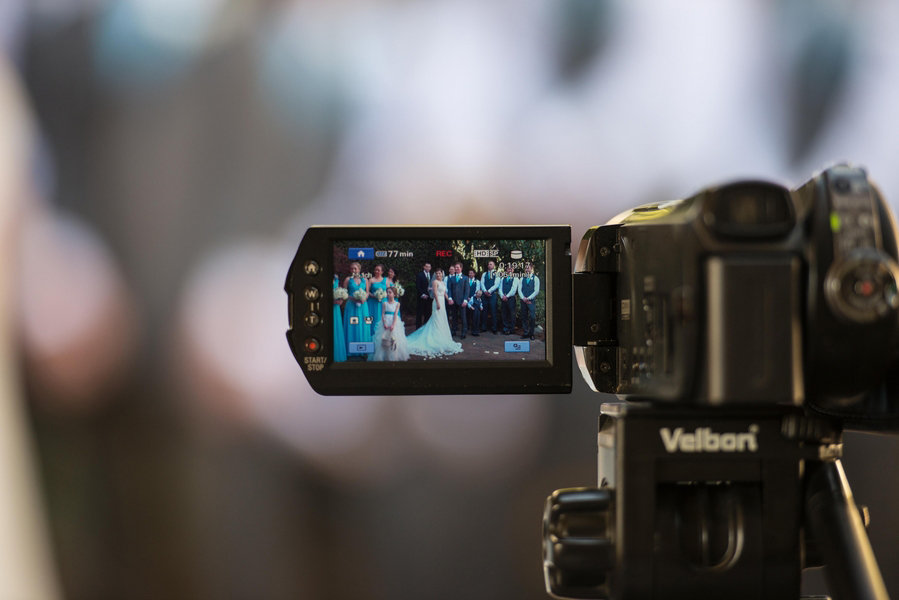 wedding video camera