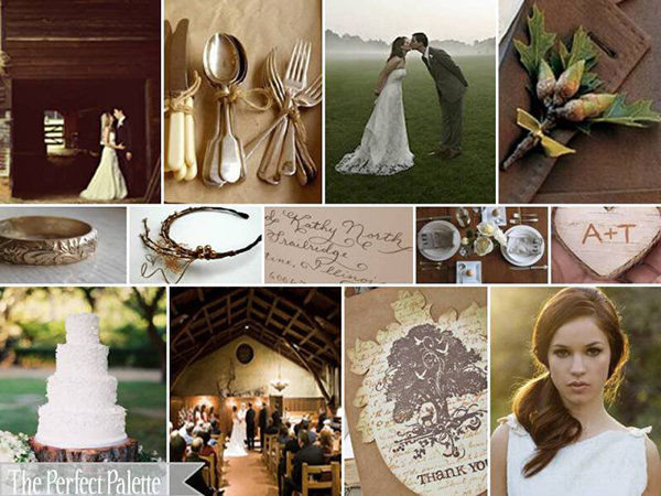 200 color combinations for your wedding bridalguide - What color is sage green ...