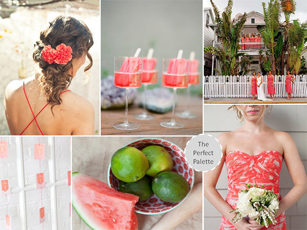 lime green wedding ideas