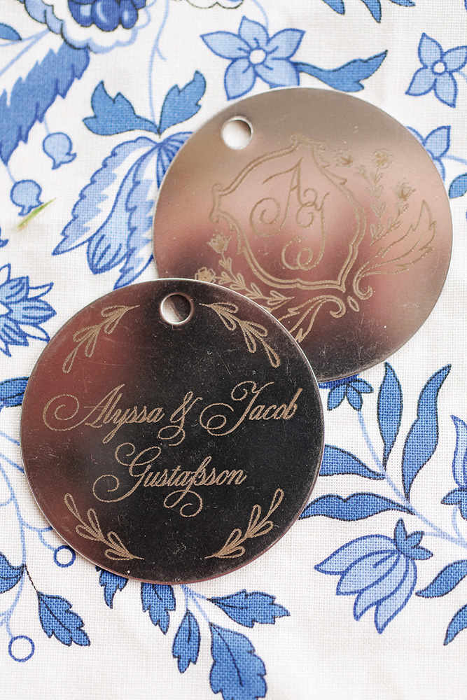 personalized wedding coins