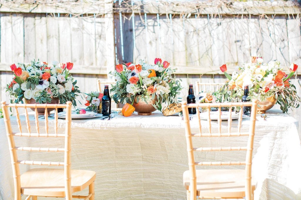 farm to table rehearsal dinner