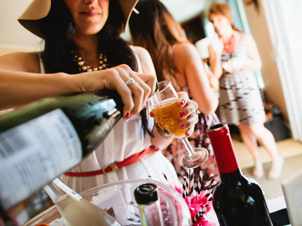 bridal shower drinks