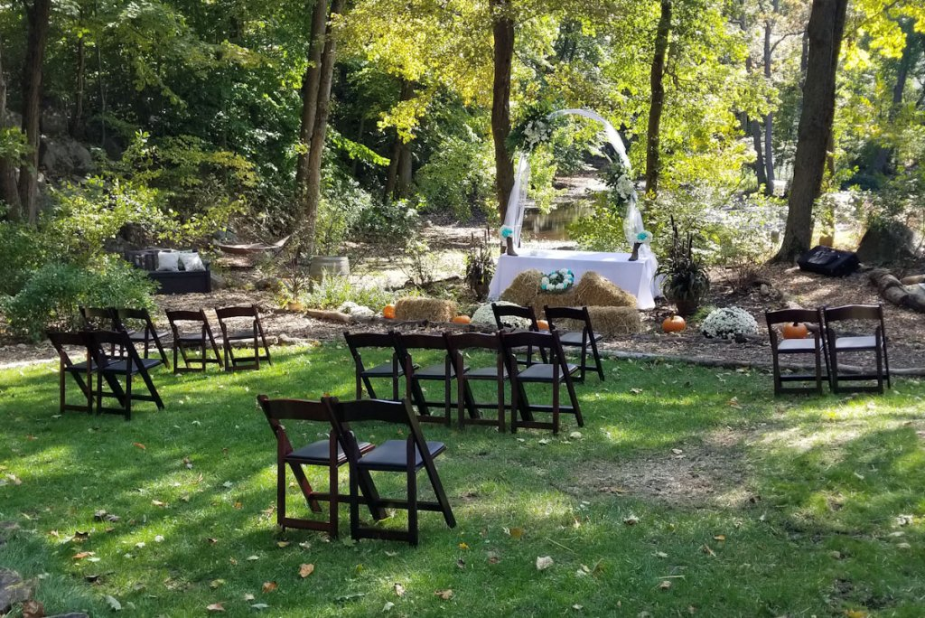 covid pod ceremony seating