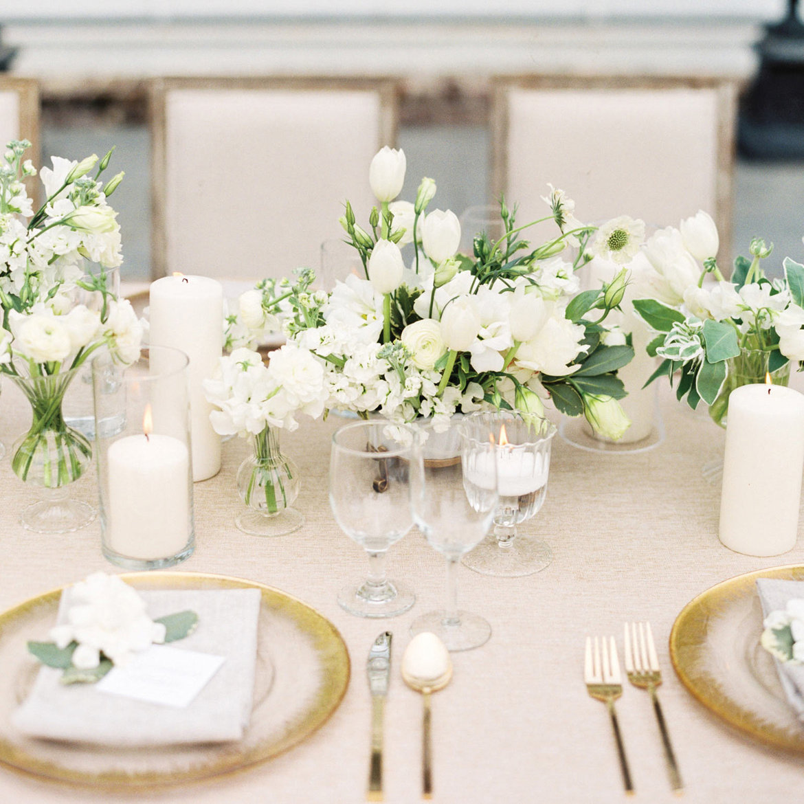 Gorgeous White Wedding Inspiration BridalGuide