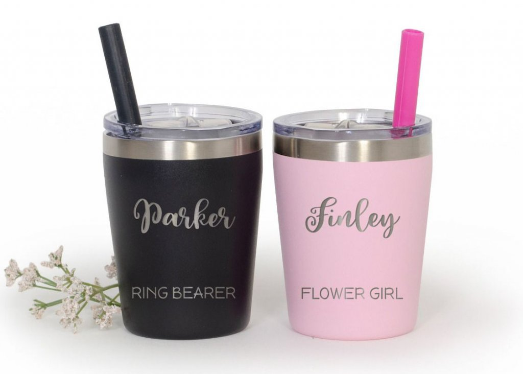 flower girl and ring bearer tumblers