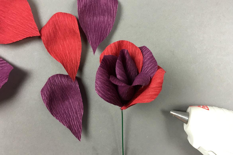 Diy Crepe Paper Garden Rose Bridalguide