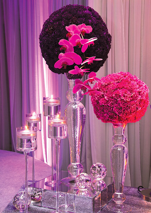 Wedding flowers modern centerpieces no