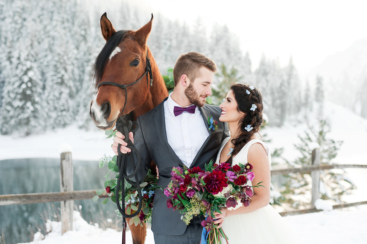 The pros and cons of each wedding season bridalguide winter winter wedding junglespirit Image collections