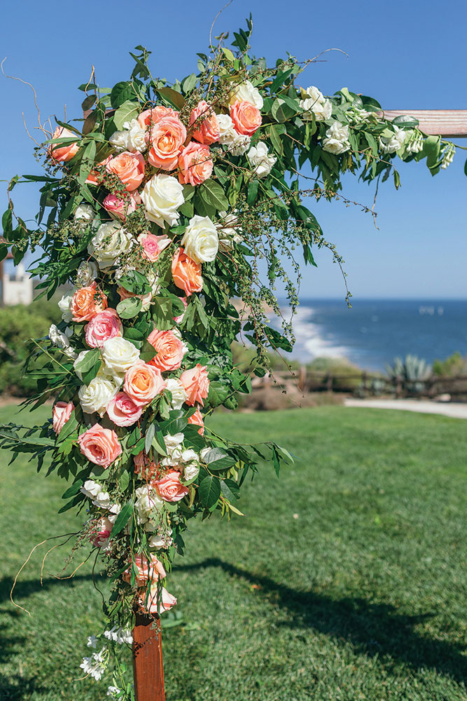 Outdoor Wedding Ceremony Arch