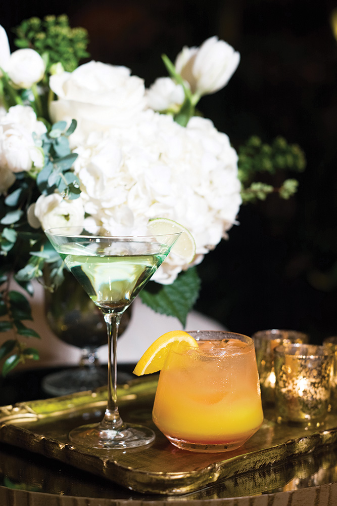 spring wedding signature cocktails