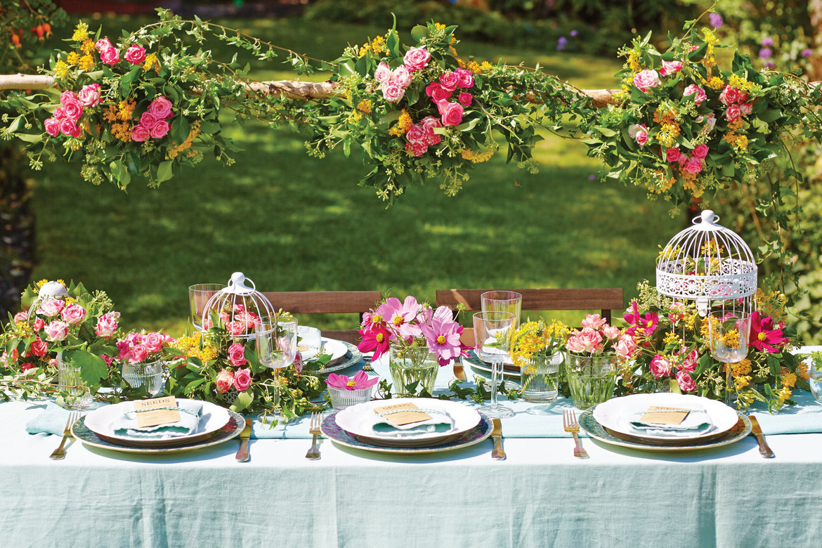 Gorgeous ideas for a garden wedding bridalguide - Garden wedding decorations pictures ...