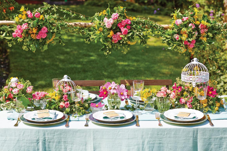 gorgeous ideas for a garden wedding bridalguide