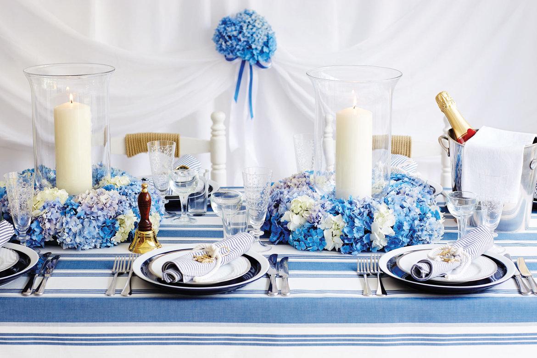 Turquoise And White Wedding Decorations Nautical Themed Wedding Ideas Bridalguide